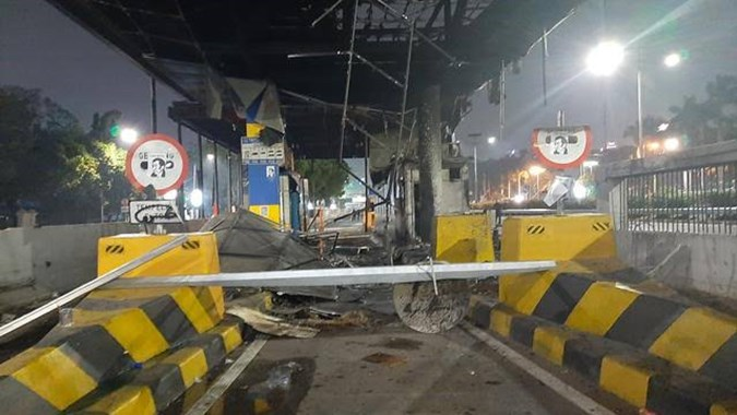 Image result for Jasa Marga rugi miliaran Rupiah imbas kericuhan demonstrasi