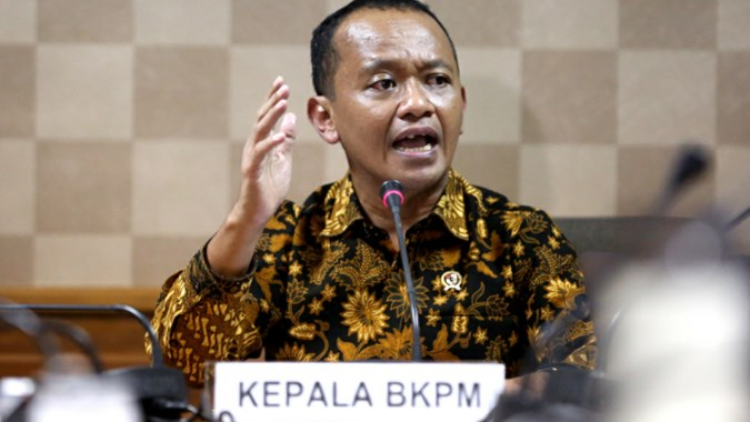 Image result for Kepala Badan Koordinasi Penanaman Modal (BKPM) Bahlil Lahadalia