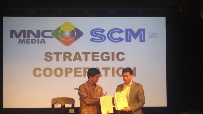 MNCN SCMA PT Media Nusantara Citra (MNCN) dan Surya Citra Media (SCMA) Jalin Kolaborasi Produksi Konten Lokal