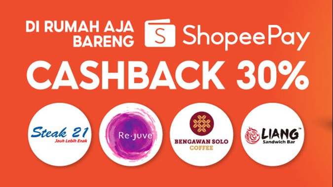 Shopeepay Dorong Transaksi Non Tunai Melalui Program Di Rumah Aja Bareng Shopeepay