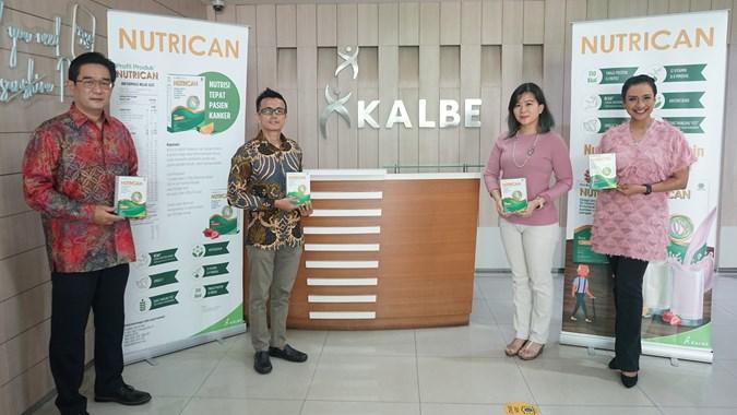 KLBF KLBF Rilis Produk Nutrisi Pendukung Bagi Penyintas Kanker