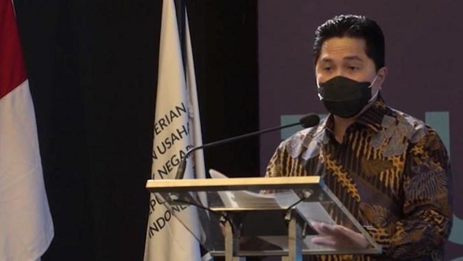 Erick Thohir Ingin Proyek Pembangunan Nasional Tidak Mengandalkan Utang