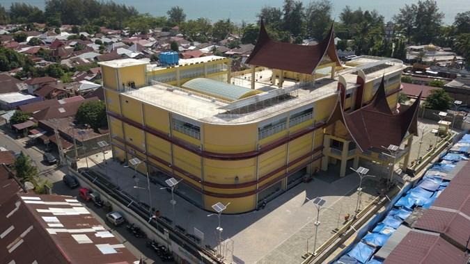 WEGE Wakil Presiden RI Resmikan Proyek WEGE Revitalisasi Pasar Rakyat Pariaman