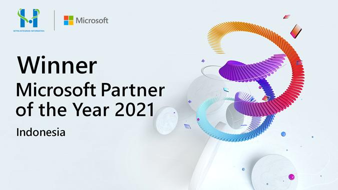 MTDL Anak Usaha MTDL Terpilih Sebagai Pemenang '2021 Microsoft Indonesia Partner of the Year'