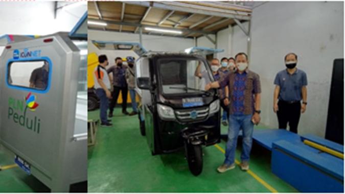 MCAS NFCX PLN Beli 77 Unit Sepeda Motor Listrik Roda Tiga Dari Volta, Anak Usaha NFCX